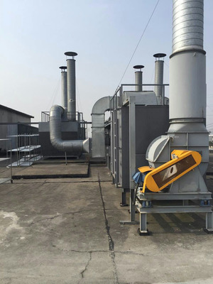 喷漆喷涂废气处理印刷厂|低温等离子除臭设备